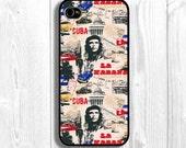 CHE Iphone Case, Cuba iphone case, revolution Iphone Cover, Guevara Iphone Sleeve, cuba case, Fits iPhone 5, iPhone 4s & iPhone 4