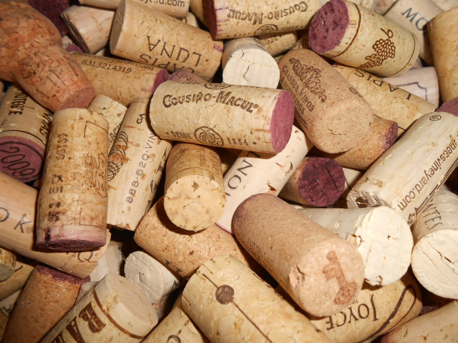 Used wine corks for crafts -  11 25