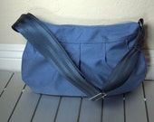 Sky Blue Cordura Buttercup Bag- Larger Version- Great Gift Idea
