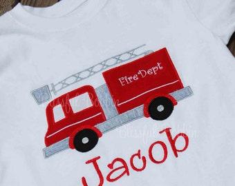 Personalized Fireman Shirt