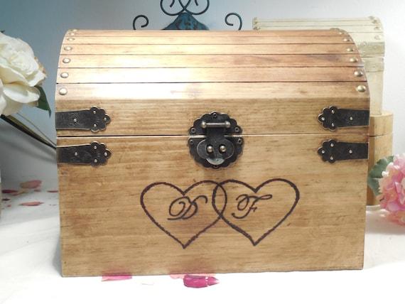 Wedding Gift Letter Box : ... Card Box - Memory Box - Time Capsule - Love Letter box - Wedding Gift