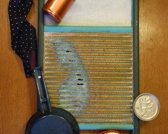 Antique Washboard 30