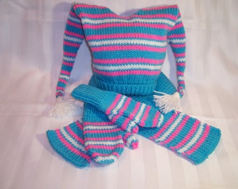 Girls hat/scarf/mittens set