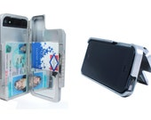 Aluminum iPhone 5 Case Wallet holds phone ID & Credit Cards