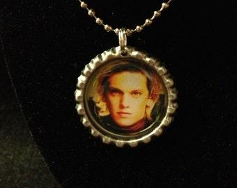 Inspired Mortal Instruments bottlecap necklace