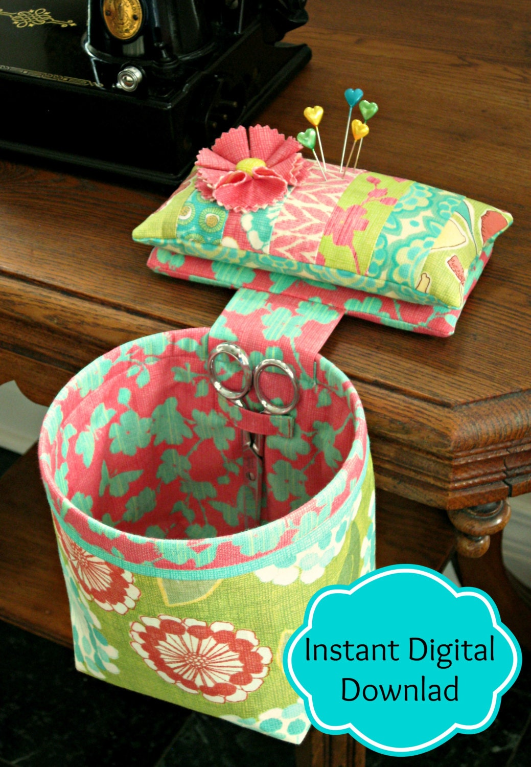 Sew In Style Thread Catcher Sewing Pattern Sewing