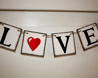 VALENTINE'S DAY Banner for you Holidays Valentine Day- Engagement Party Decoration - Photo Prop