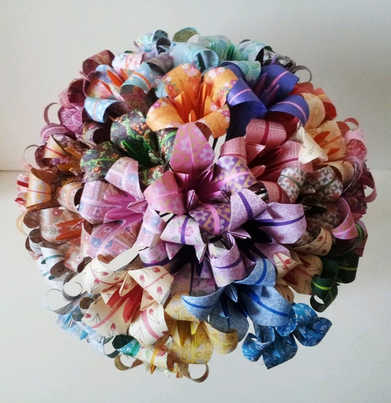 papier lily origami fleurs bouquet mariage papier anniversaire. Black Bedroom Furniture Sets. Home Design Ideas