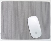 Mousepad   Grey striped pattern - other options available
