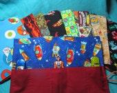 Stocking Stuffer- Car Roll/Toy Roll - boy fabrics
