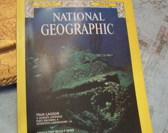 National Geographic Magazine May 1976 Vol. 149 No. 5.