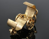 Antique Wheelchair Charm in 14k Yellow Gold P2NQJN-R