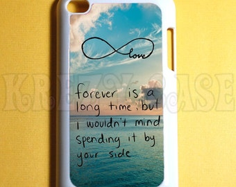 Ipod Touch 4 Case -  cute forever young Ipod 4G Touch Case, 4th Gen Ipod Touch Cases