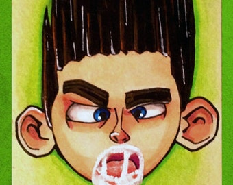 Marker Sketch Paranorman