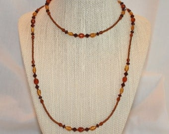 Autumn Splendor Necklace (1022)