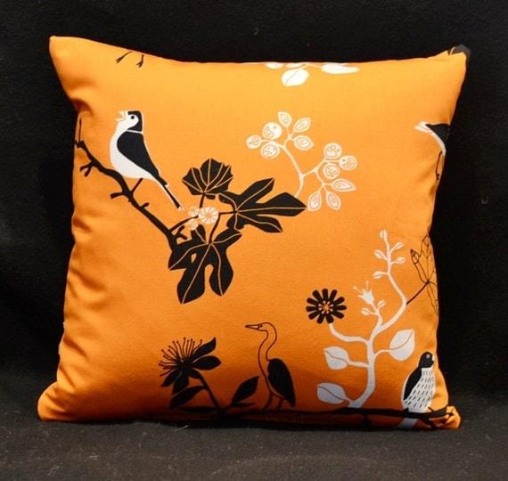Items similar to Decorative throw pillows, orange pillow, Ikea Designer Pillows- Throw pillows ...