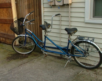 MACKINAC ISLAND Tandem Bicycle - Vintage 1980's Bicycle Built For Two - For Pick Up Only!