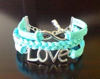 Infinity & LOVE Bracelet