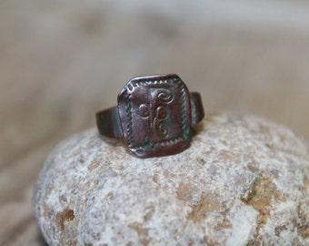 """Antique ring... 3/4 """""""