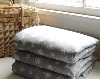 Waterproof Picnic Blanket-Grey Dandelion