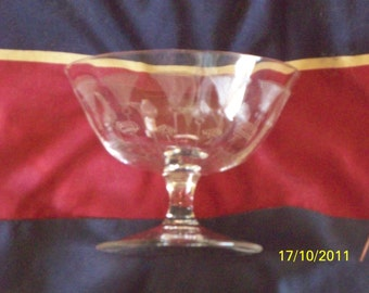 Czech Needle Engraved Sorbet Cup - Set of Five