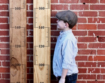 METRIC DIY Growth Chart Ruler Vinyl Decal Kit - Alternating Style