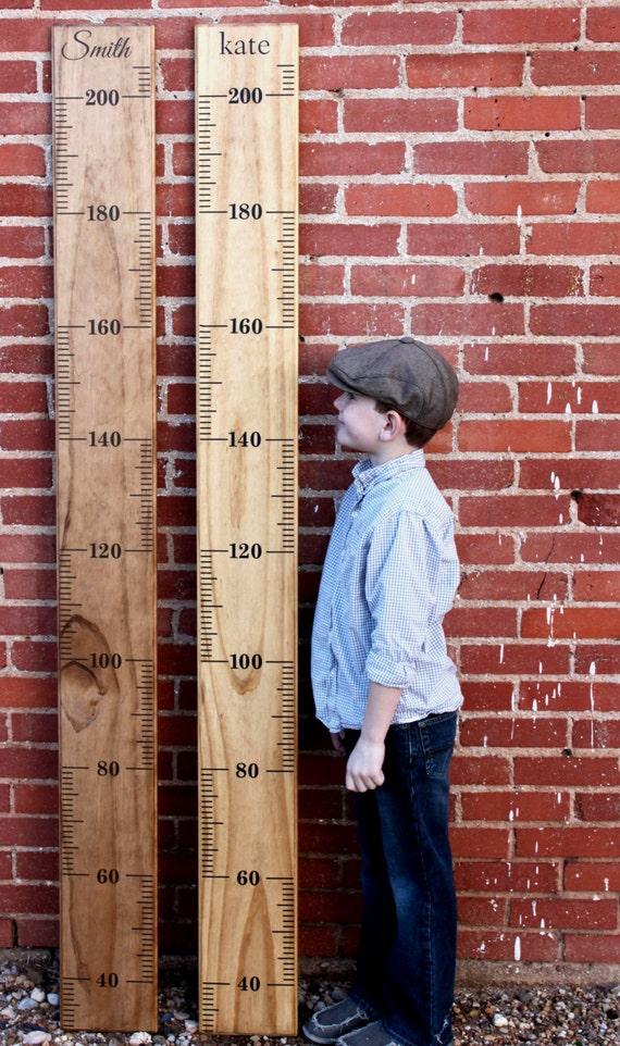METRIC DIY Growth Chart Ruler Vinyl Decal Kit Alternating - Ruler growth chart vinyl decal