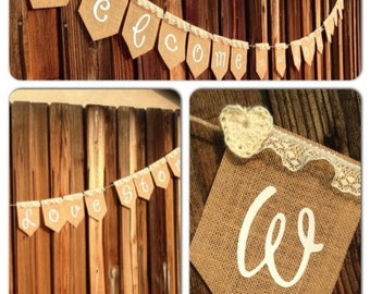 WEDDING - Welcome to our love story banner
