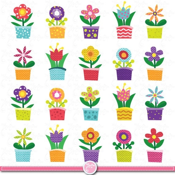 Flower Clip Art Flower Design