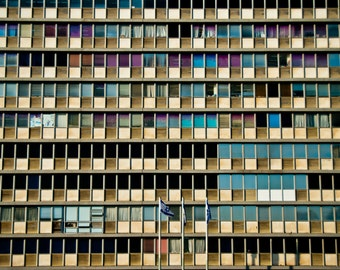 Israel Photography - City Hall - Tel Aviv - Israel - 8x10 Fine Art Photograph - Wall Art