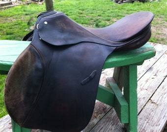 "Vintage 17"" Passier Sohn & Hannover All Purpose Saddle"