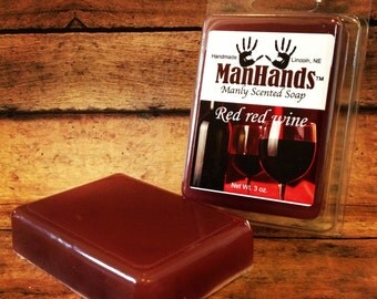 Red Wine Scented Soap 3 oz. Bar