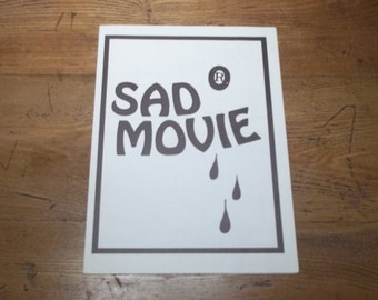 Sad Movie catalogue van Wim van der Linden & Wim T. Schippers