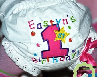Rainbow Stars Bloomer Personalized for your child (631)