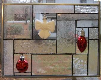 Christmas Ornament Suncatcher  No. 1