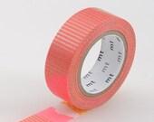 Washi Tape, MT Tape, Coral, Orange, Gold, Pink, Patch Tsugihagi, Japanese, Wedding, Birthday