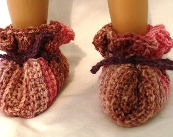 The Color Rasberry Booties