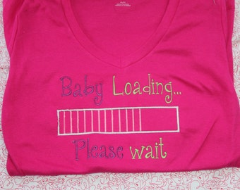Baby Loading Maternity Shirt