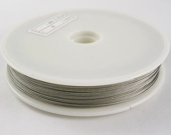 Beading Wire 0.38mm - Silver