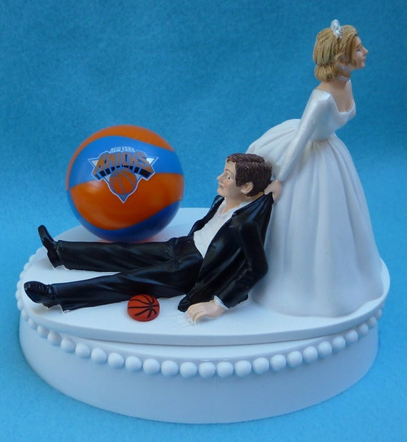 wedding cake toppers in new york wedding cake topper new york knicks ny basketball themed w 26513