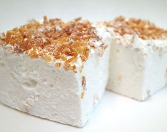 Toasted Coconut Marshmallows - 1 dozen Gourmet homemade marshmallows