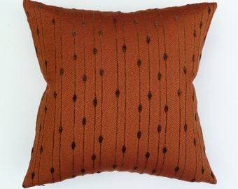 "Retro Mid Century Modern style Accent Throw Pillow -  17"" x 17"" feather/down insert included"