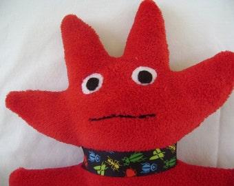 Hand Made Plush Stuffed Monster Animal, Plush Monster Toy, Stuffed Monster Toy, Monster Plush Bubba Joe, Birthday Gift