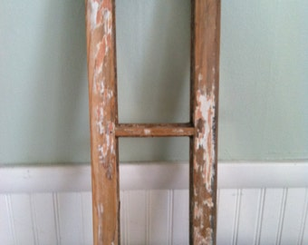 Vintage Solid Salvage Wood Window Pane
