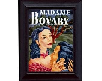 Flaubert Book: Madame Bovary Cover Art