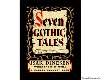 Isak Dinesen, Seven Gothic Tales Book Art