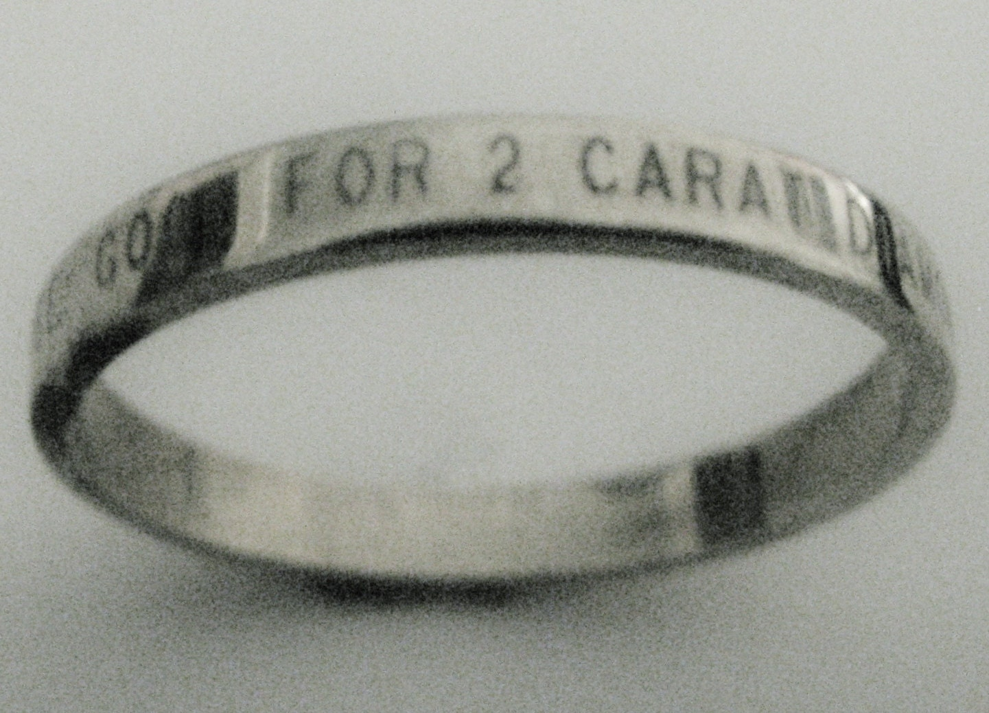 ultimate poor mans promise ring engraved by engraveddesigns