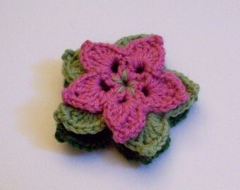 Beautiful Flower Brooch