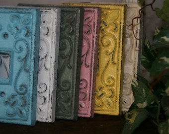 Light Switch Covers electrical plates electrical covers fleur de lis shabby chic home decor