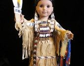 "18"" Doll in Full Traditional Women's Dance Regalia- 25% OFF!"